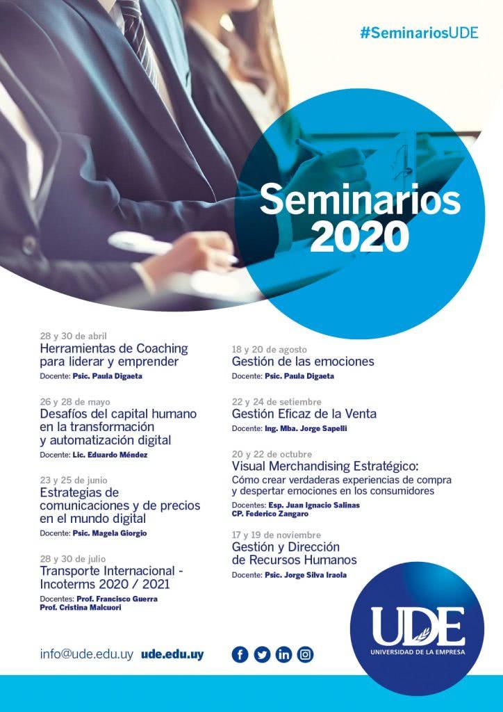 Seminarios 2020 UDE