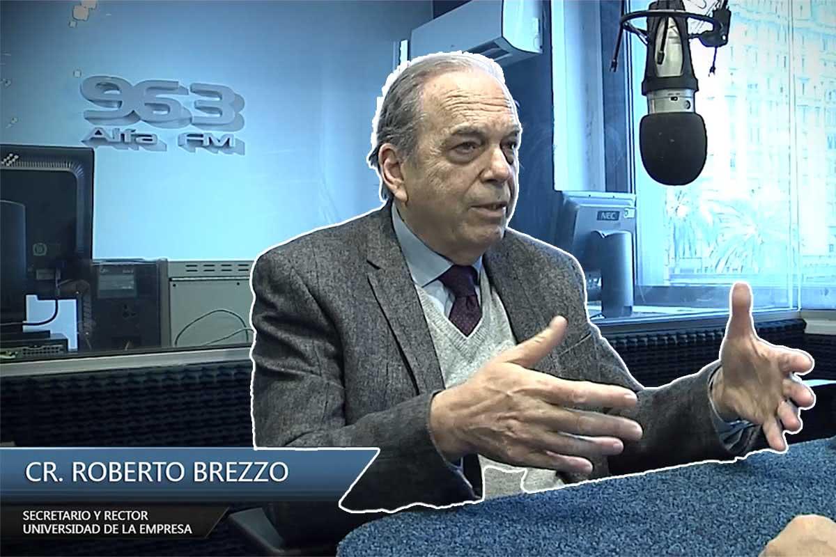 Entrevista Cr. Roberto Brezzo –Rector de la Universidad de la Empresa