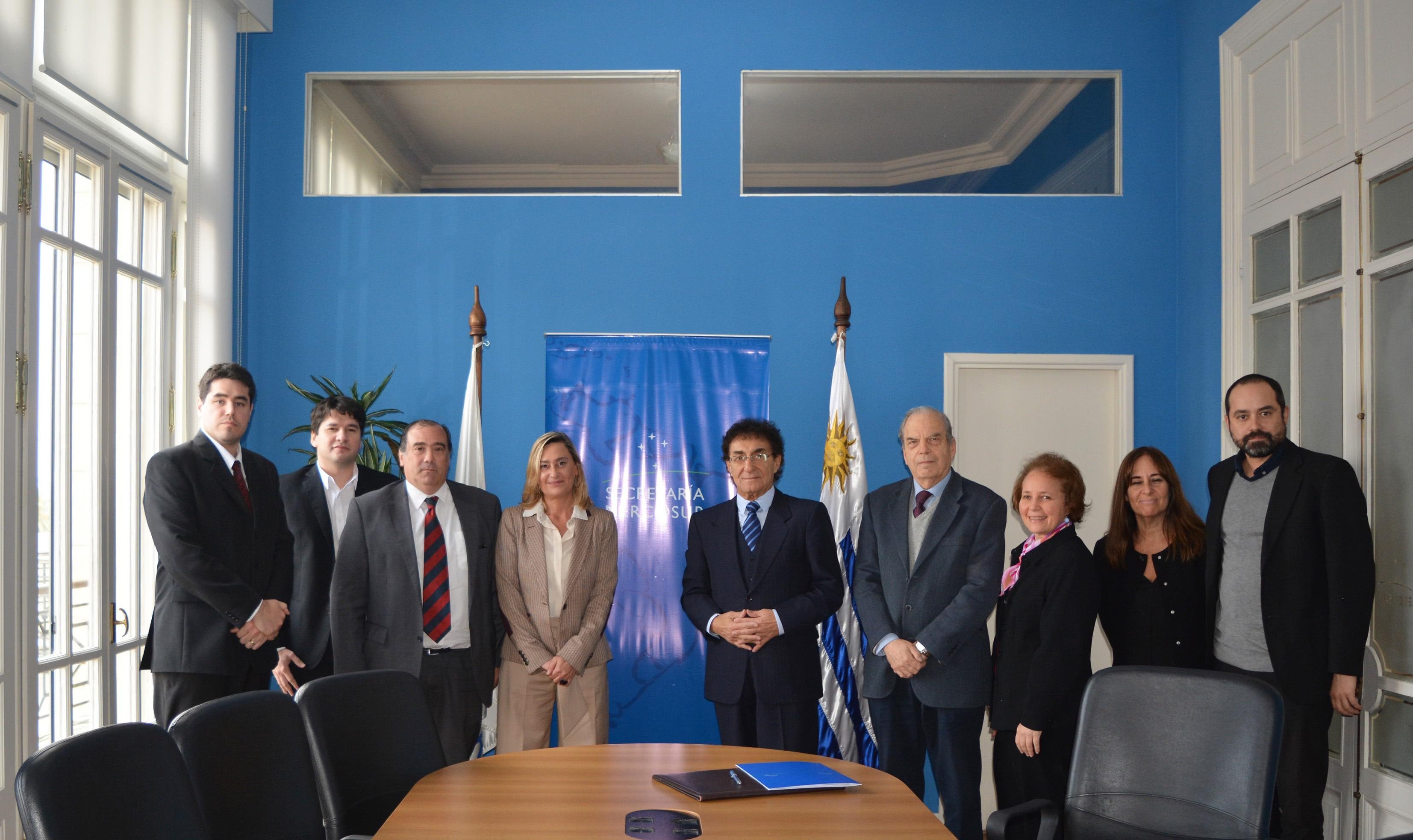 Nuevo Convenio de Cooperación <br> UDE y la Secretaría del MERCOSUR