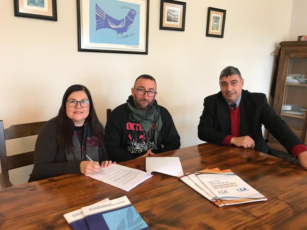 UDE Colonia <br> Apoyo a los investigadores y sus familias