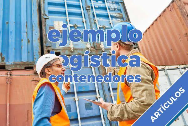 logística contenedores