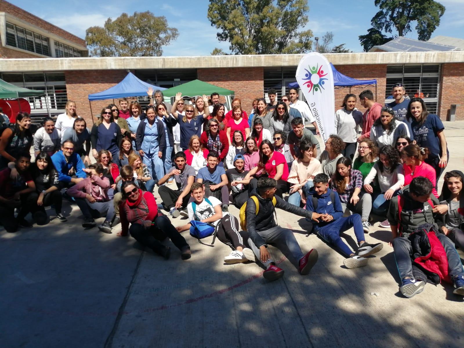 Una Universidad comprometida con la gente <br> Fisioterapia en la Expo Semana del Corazón