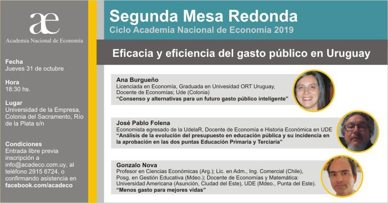 evento Academia Nacional de Economía