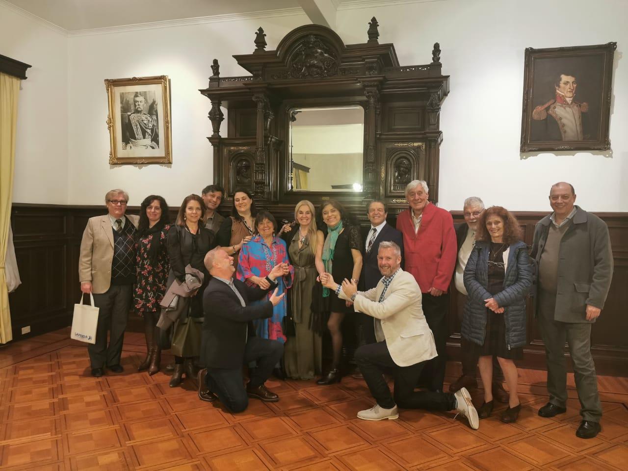 Celebración del Art Decó <br> Decano Rubilar en Encuentro Regional