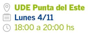 Seminario UDE Punta del Este Ingeniería Digital