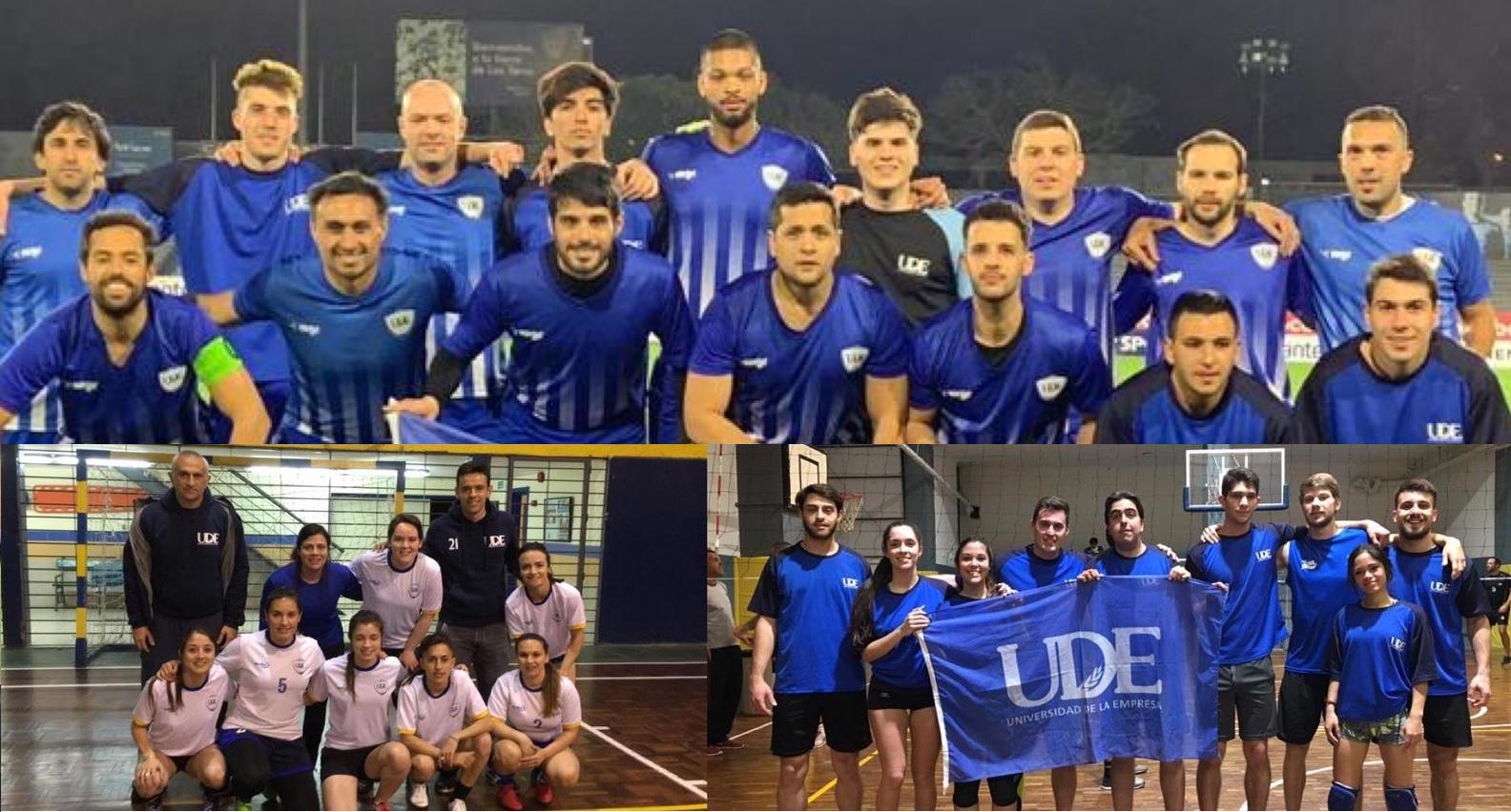 Deportes UDE<br>Disfrutá de la experiencia