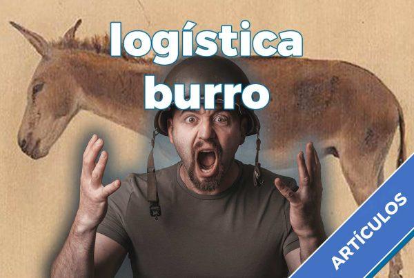 logística burro
