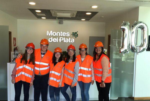 Montes del Plata - Visita LRH Colonia