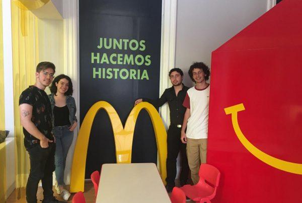 David Girnberg McDonalds Hacemos historia
