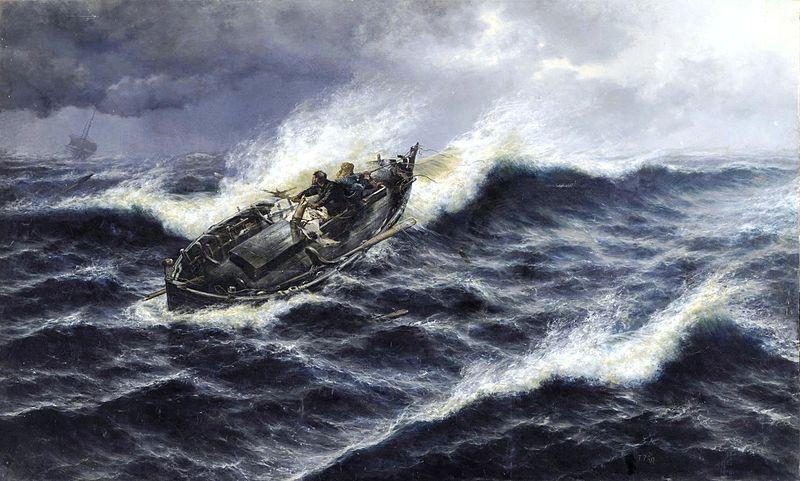 Logística en Alta Mar <br> por el Cap. Gerardo Lebel