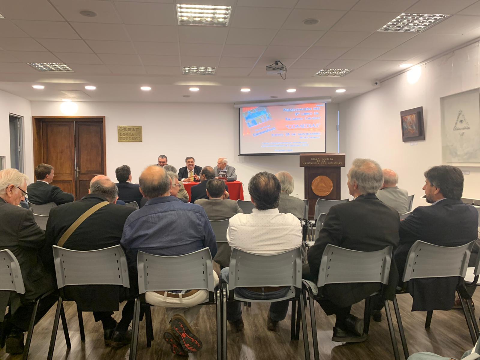 """Presentación del libro<br> """"Comedias"""" del Dr. Ricardo Grasso"""
