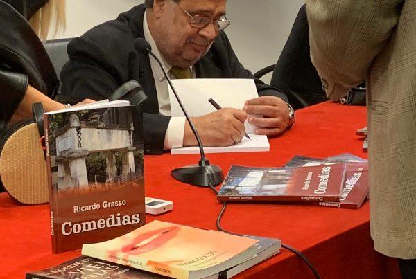 """Presentación del libro<br> """"Comedias"""" del Dr. Ricardo Grasso 6"""