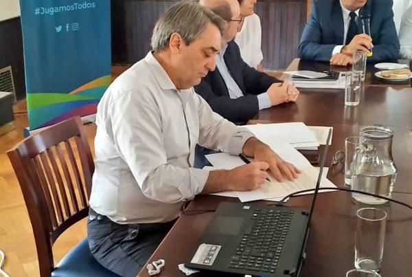 Firma convenio SND