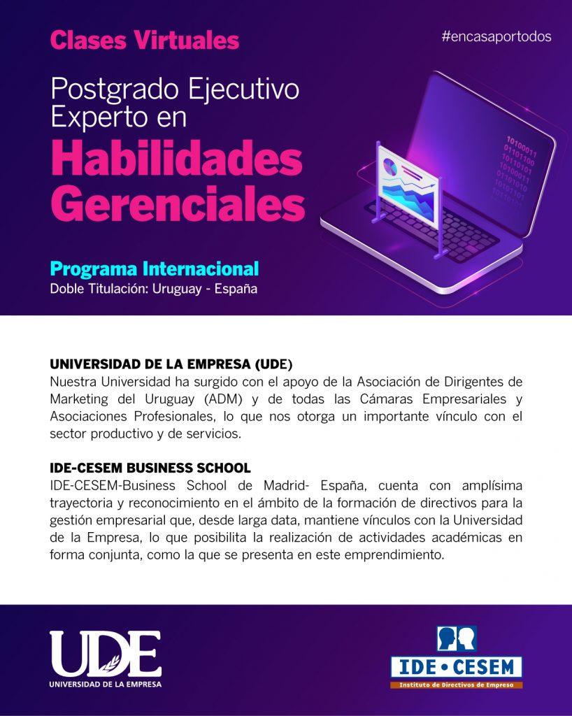UDE IDE HabGerenciales web
