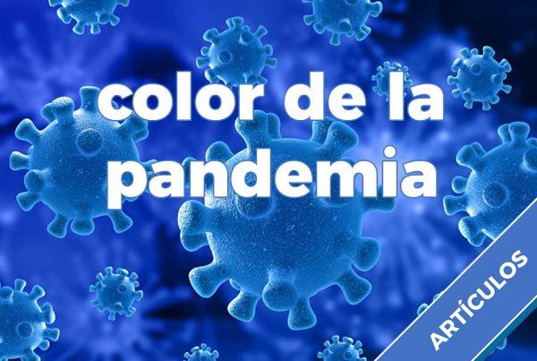 color de la pandemia