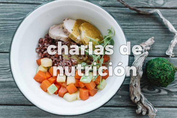 Charlas de Nutrición