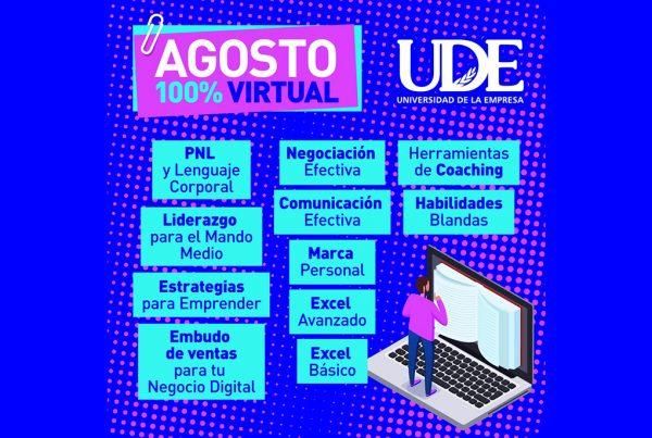 Nuevos cursos virtuales en  UDE. Pioneros en la innovación 1