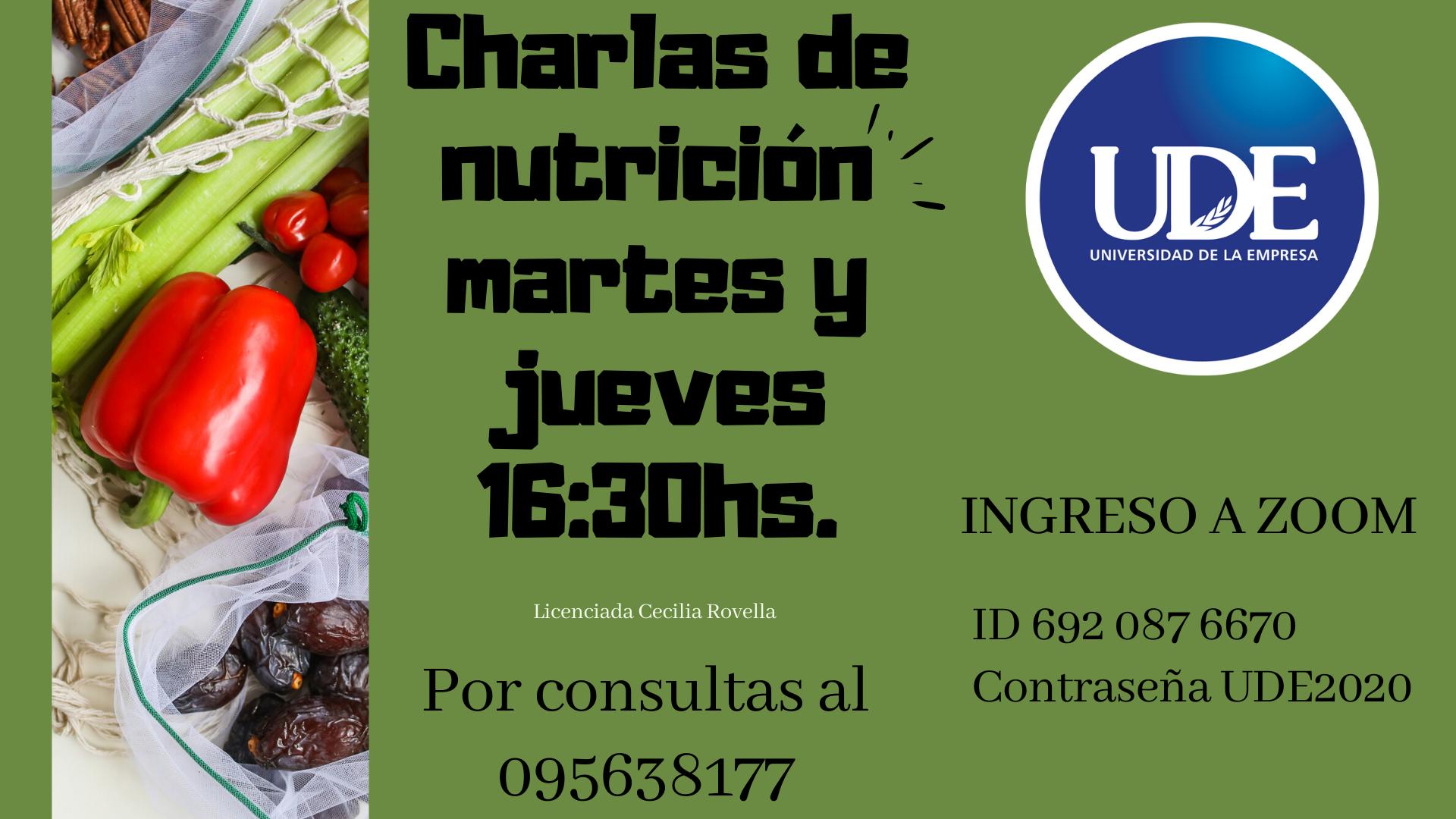 Universidad nutrición Covid 19