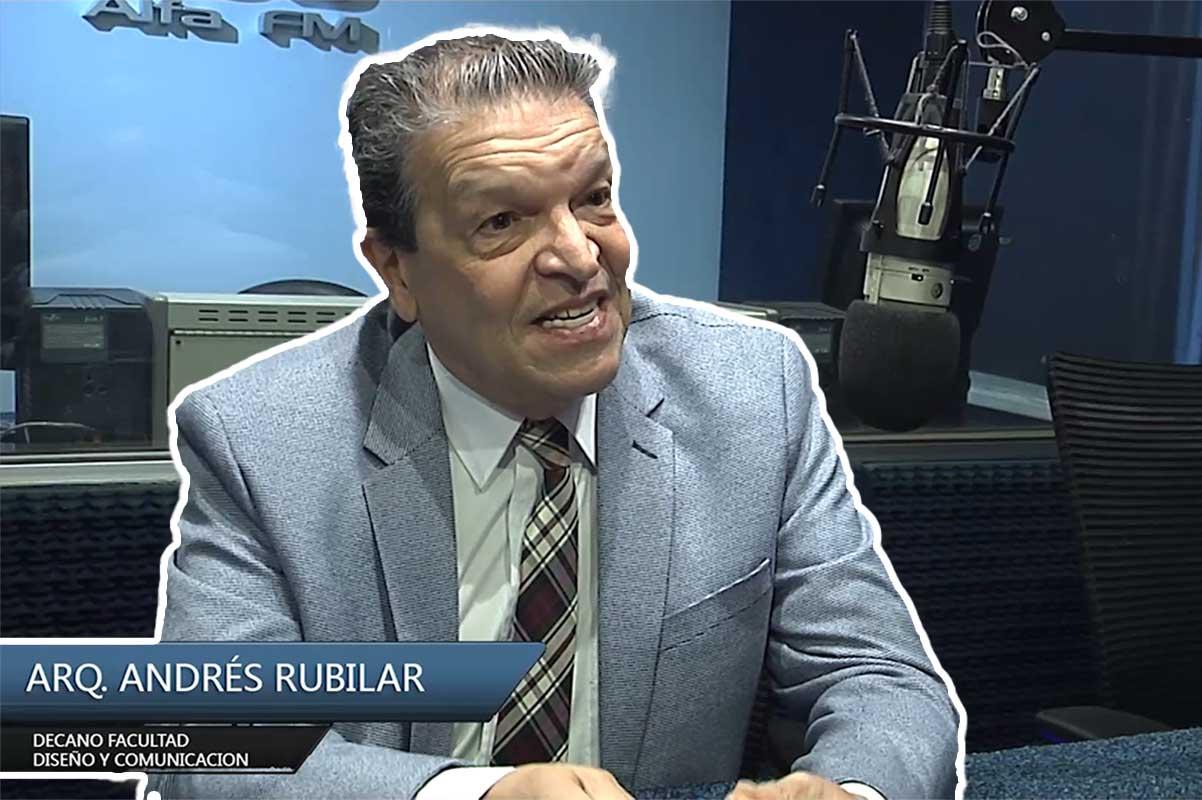 Entrevista Arq. Andrés Rubilar – Decano de la Facultad de Diseño y Comunicación