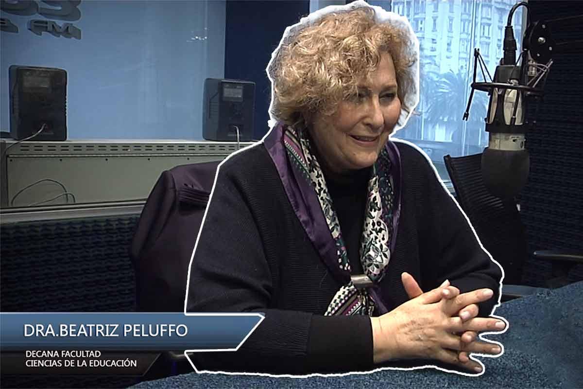 Entrevista Dra. Beatriz Peluffo – Decana de la Facultad de Ciencias de la Educación