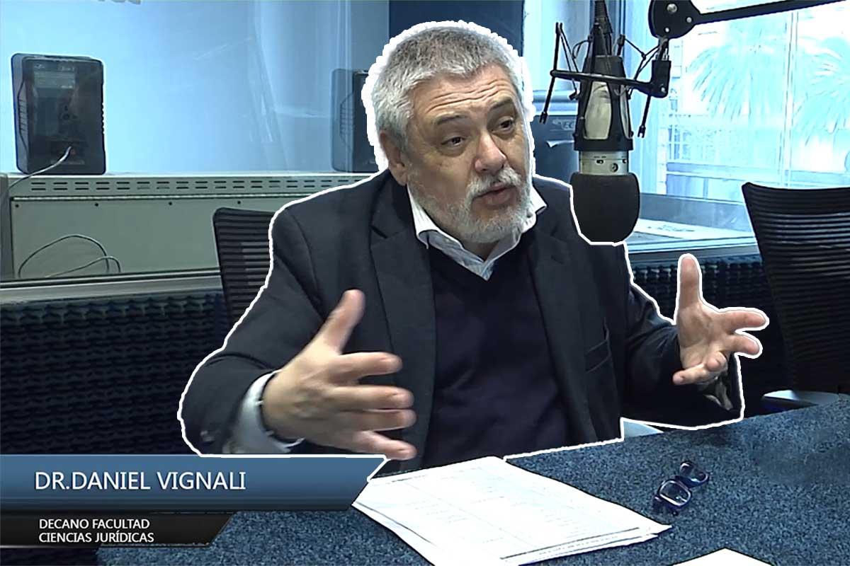 Entrevista Dr. Daniel Vignali – Decano de la Facultad Ciencias Jurídicas