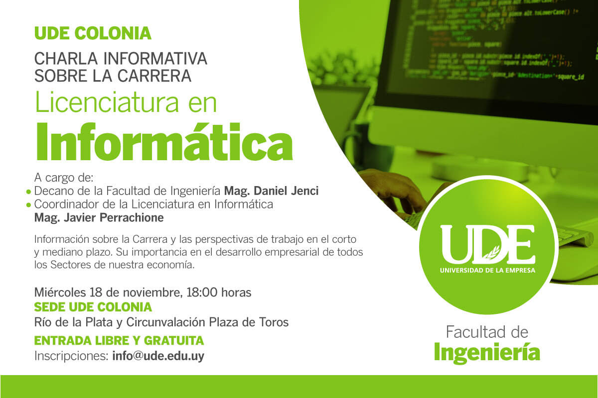 Estudiar Licenciatura en Informática