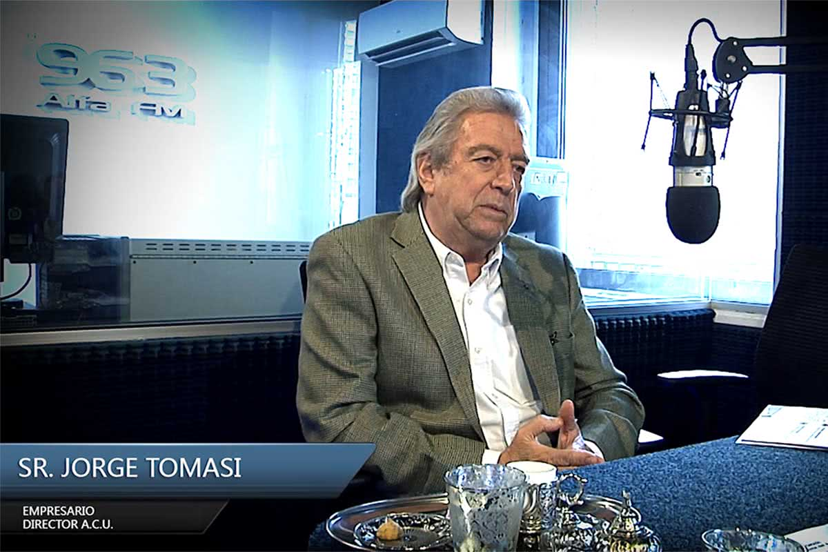 Entrevista al empresario Sr. Jorge Tomasi
