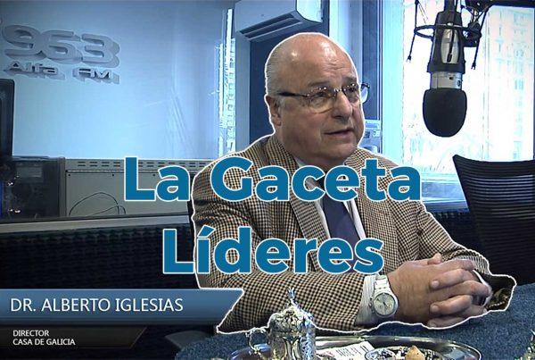 Doctor Alberto Iglesias - Presidente de Casa de Galicia