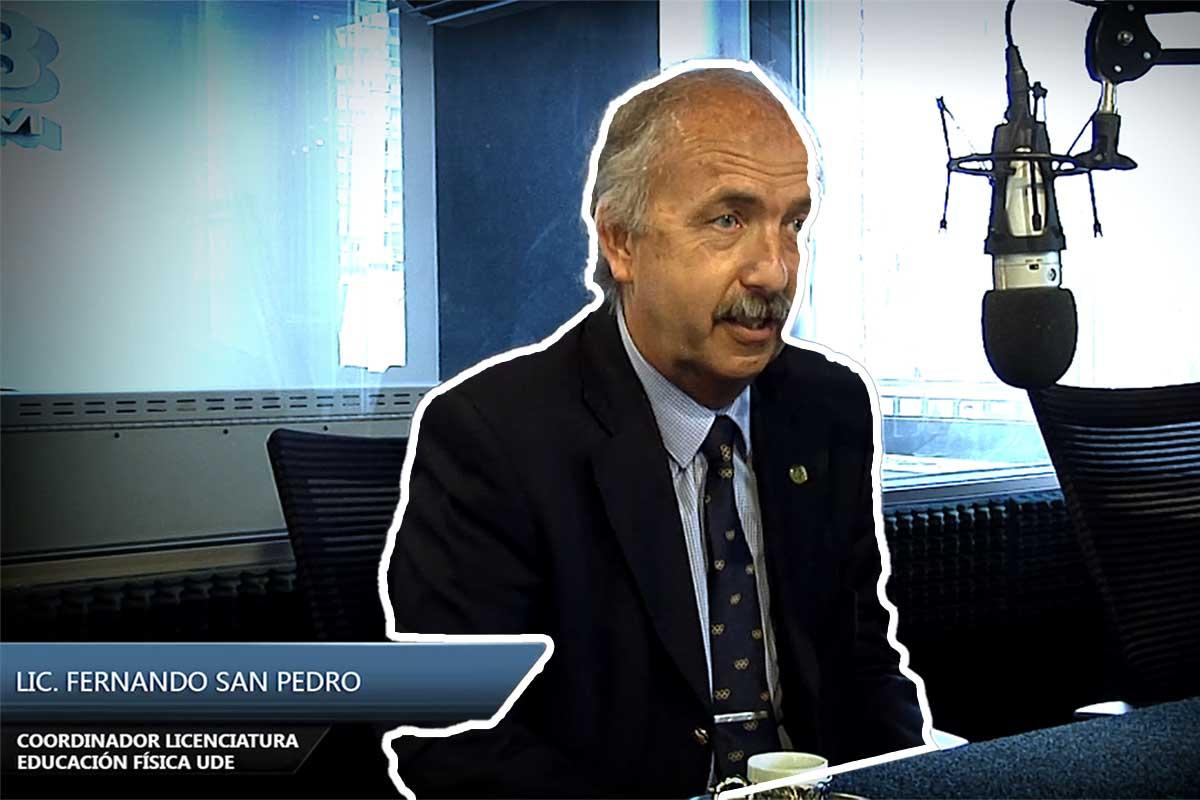 Entrevista Fernando San Pedro Coordinador Licenciatura Educación Física