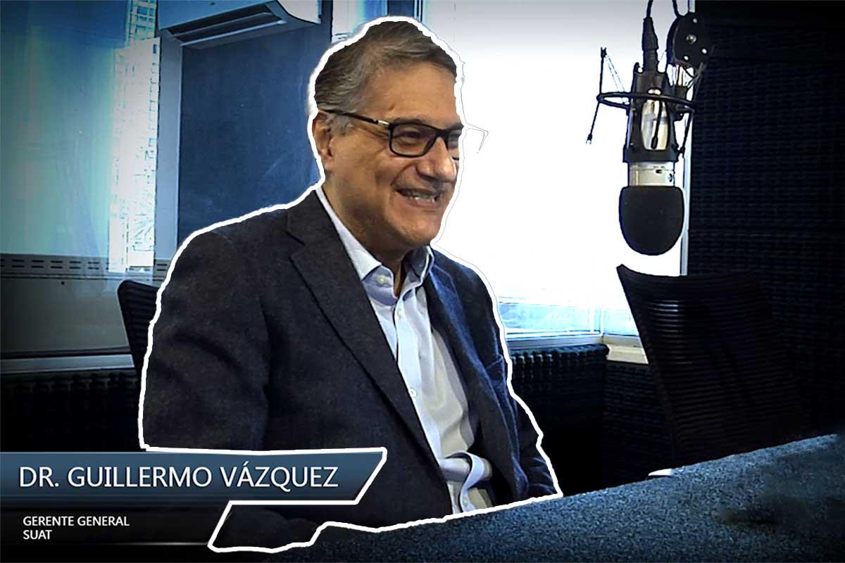Entrevista al empresario Dr. Guillermo Vázquez