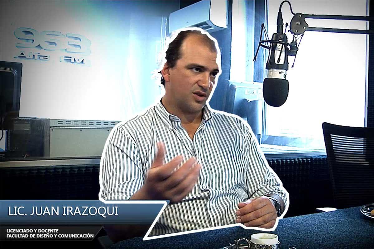 Entrevista Juan Irazoqui – Facultad de Diseño y Comunicación