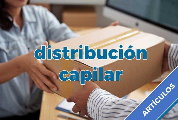 distribución capilar