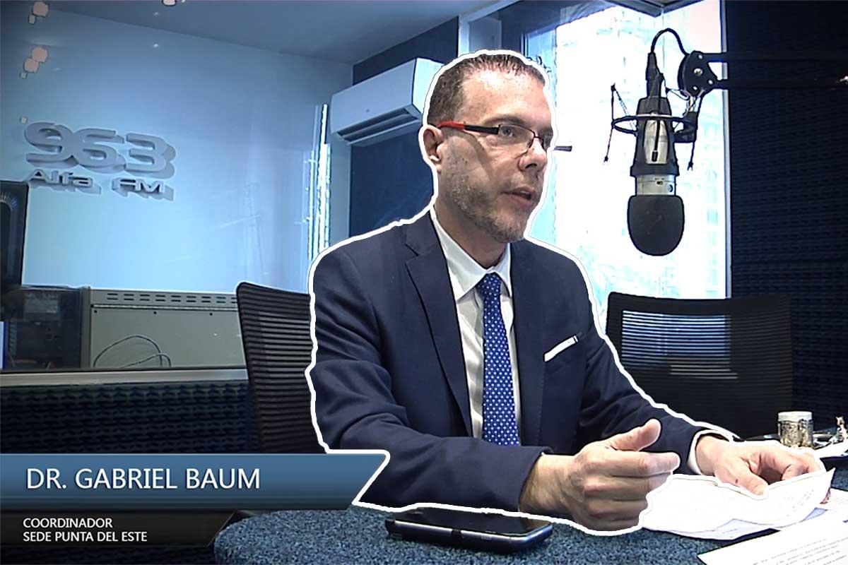 Entrevista Gabriel Baum Coordinador Académico Punta del Este
