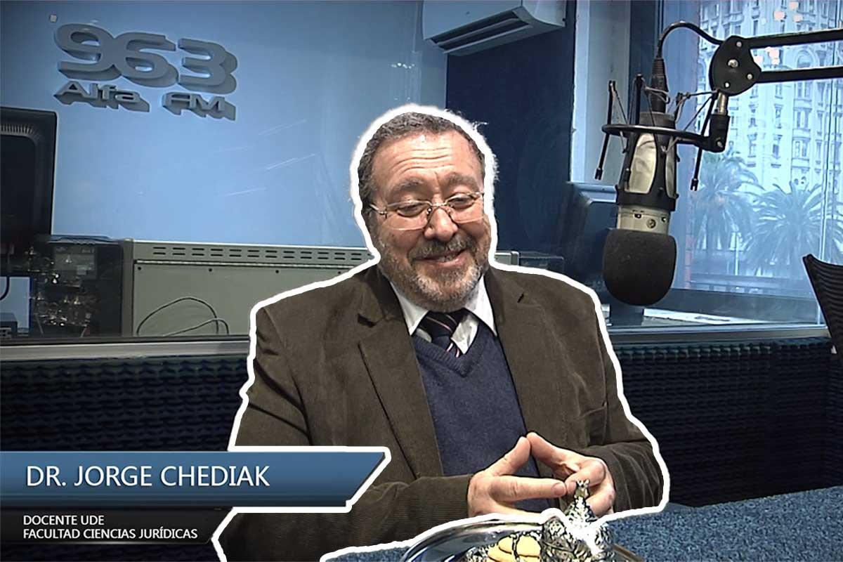 Entrevista al Dr. Jorge Chediak – Profesor de la Universidad de la Empresa