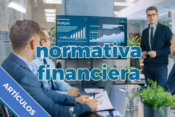 Normativa financiera