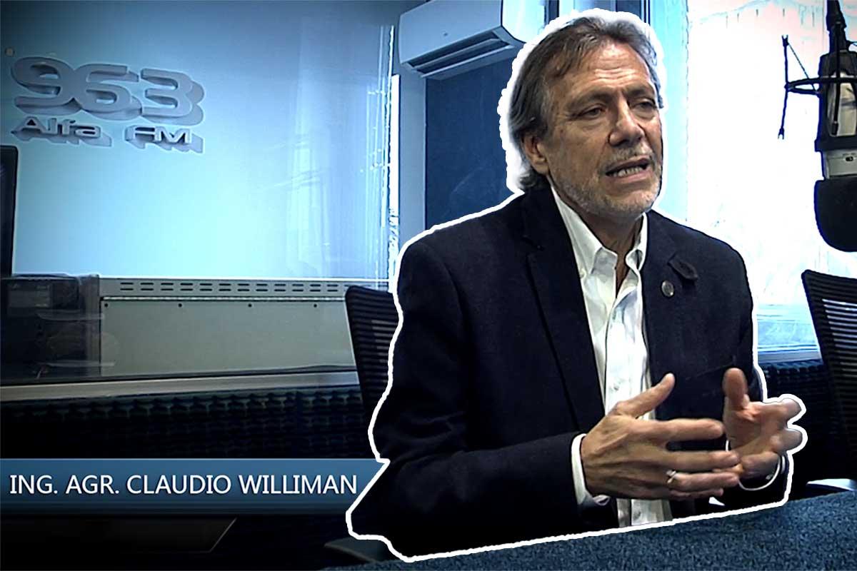 Entrevista al Ing. Agrónomo Claudio Williman