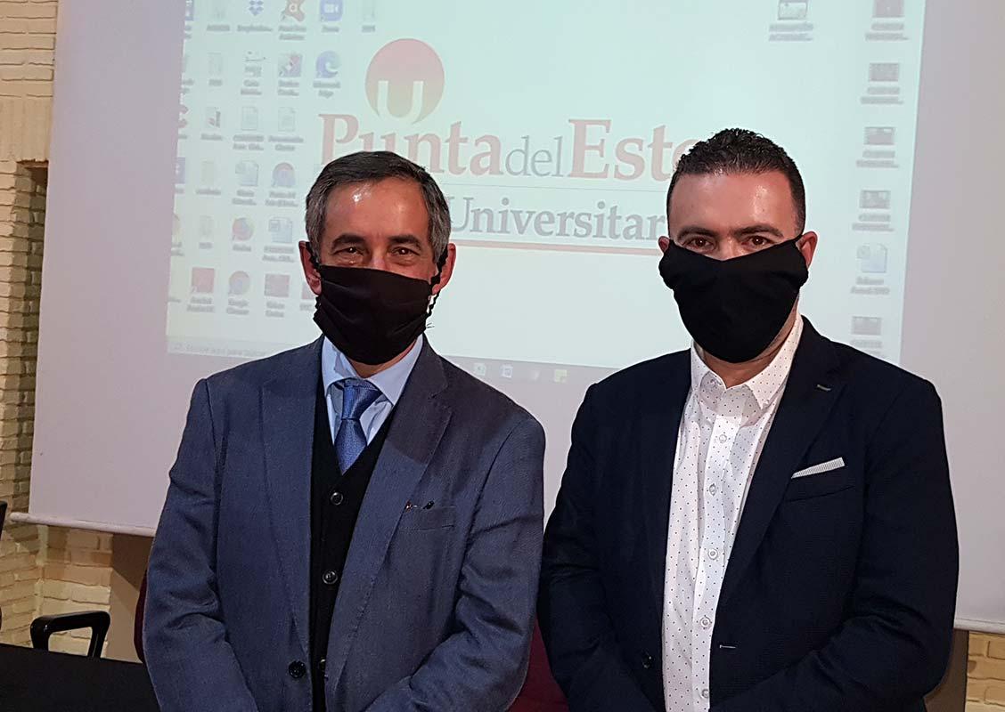 Dr.Carlos Romero y Dr. Gabriel Baum