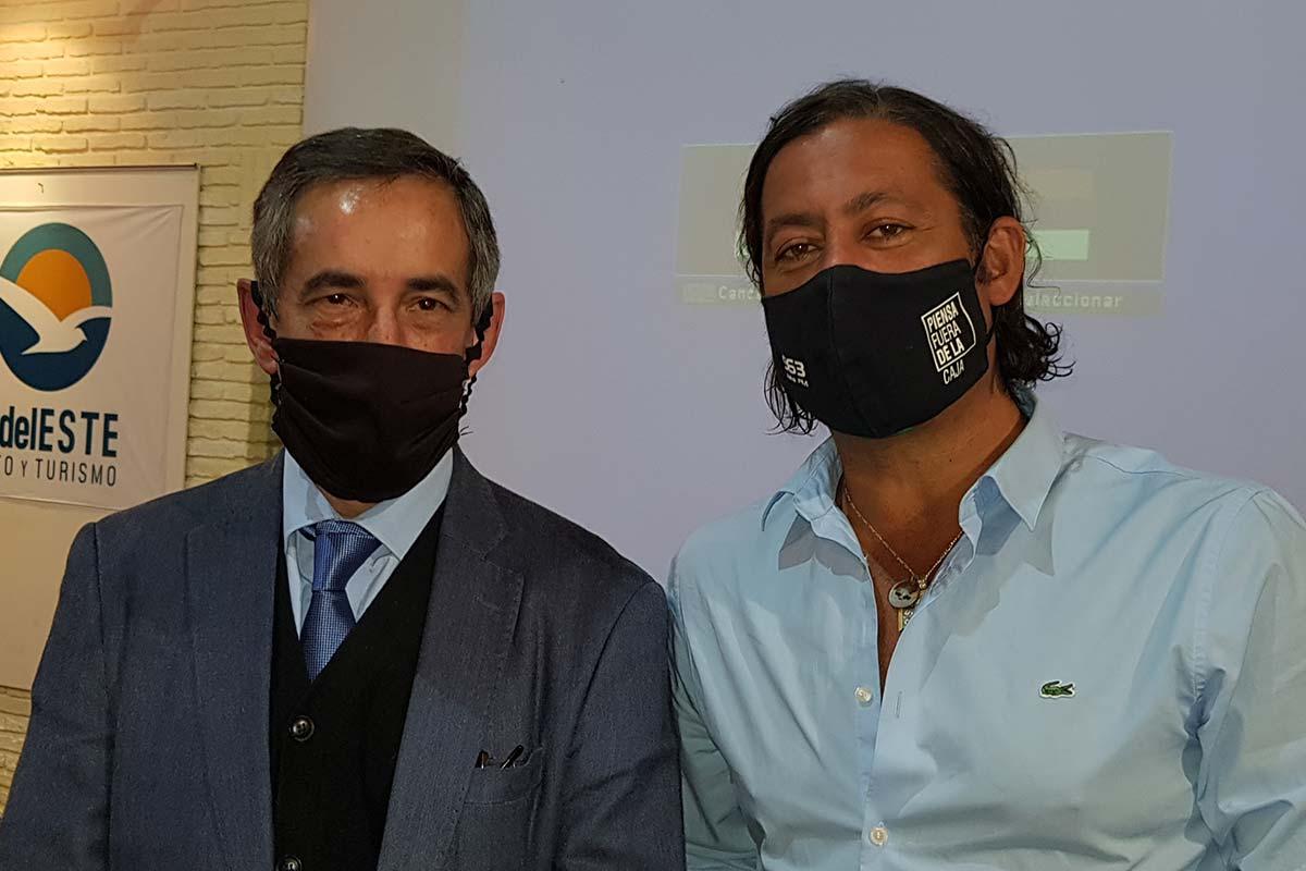 Carlos Romero y Gustavo Abuchalja